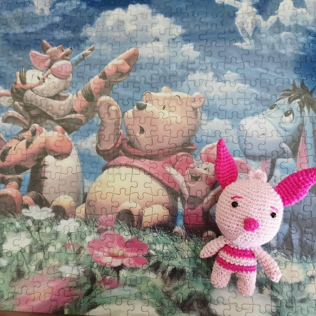 Piglet Amigurumi / Boneka Rajut
