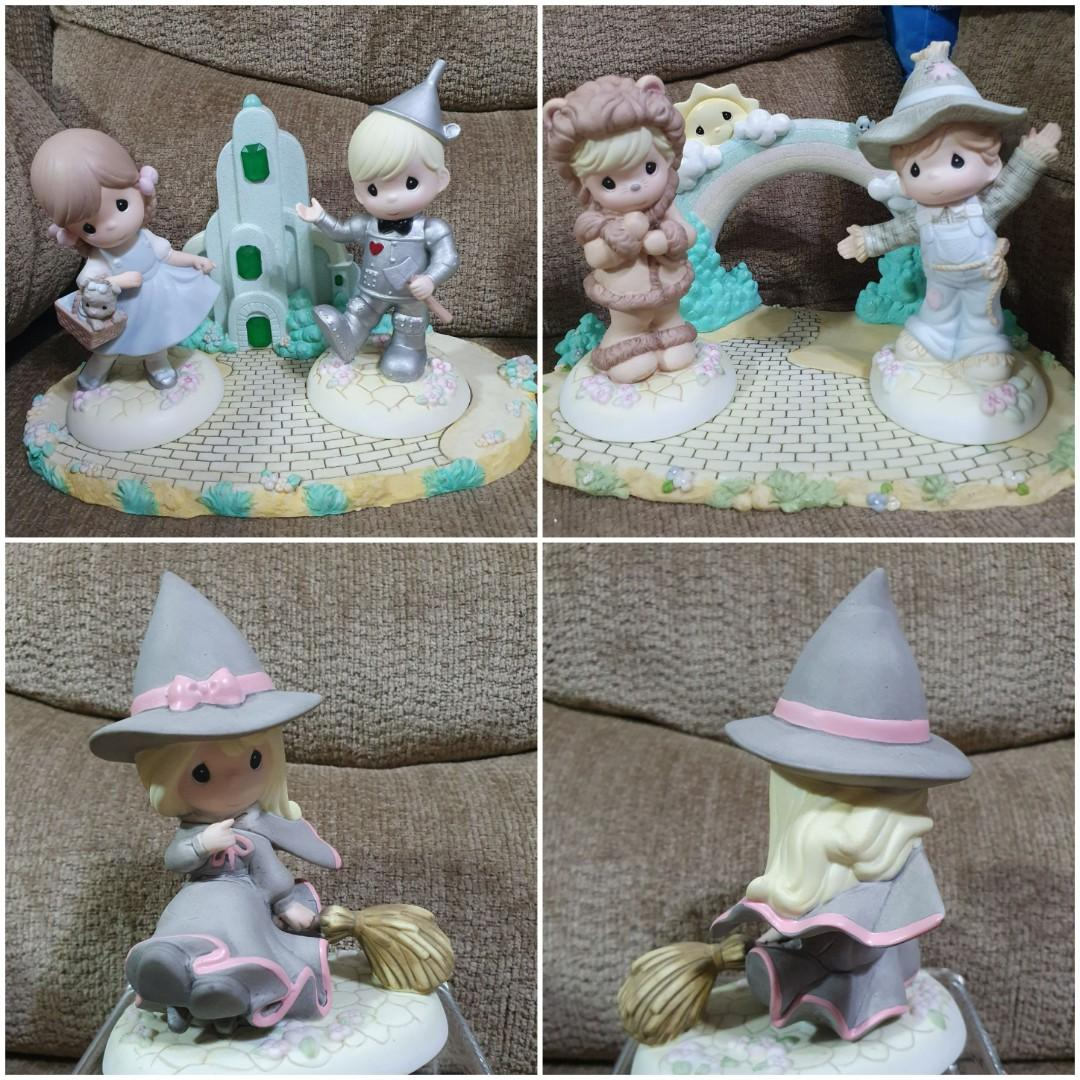 Precious Moments Collectible Wizard Of Oz Complete Set Of 6-NEW-Free Shipping