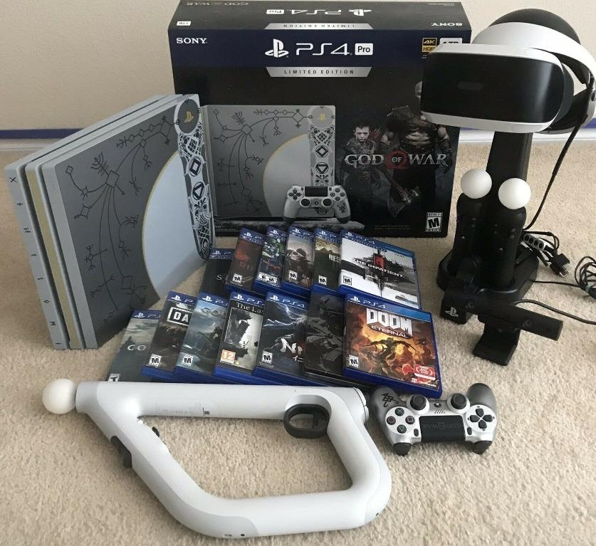 ps4 pro 1tb console grey