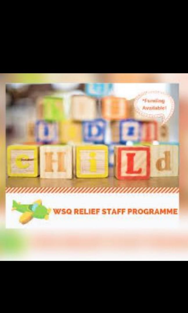 Relief staff programme