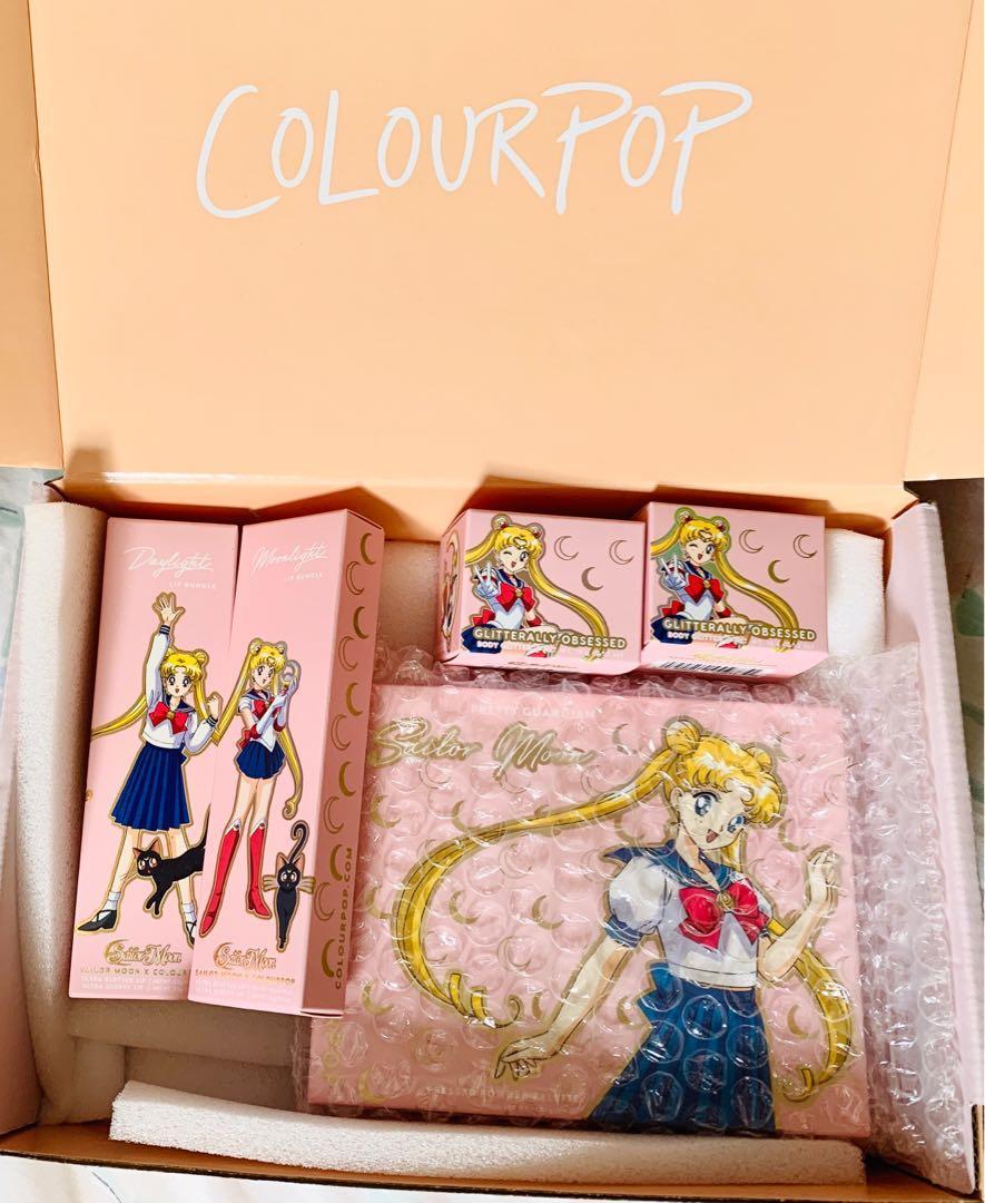 Sailor Moon ColourPop Makeup Collection