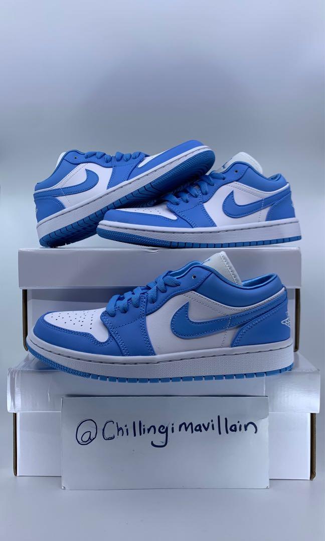 jordan 1 low cut blue