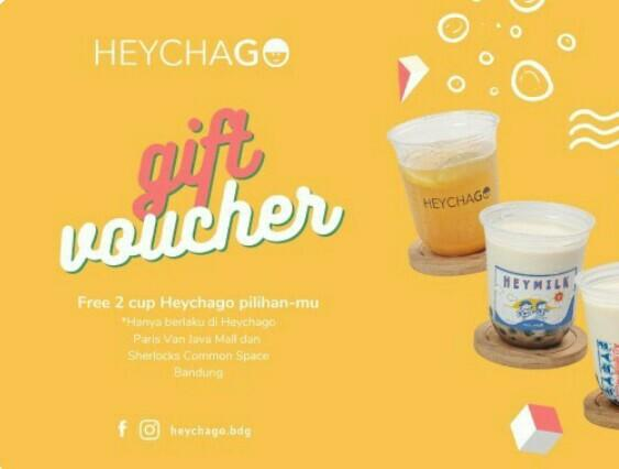 Voucher Minuman HeyChago