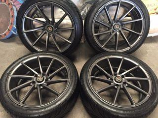 """19"""" mags & tires"""