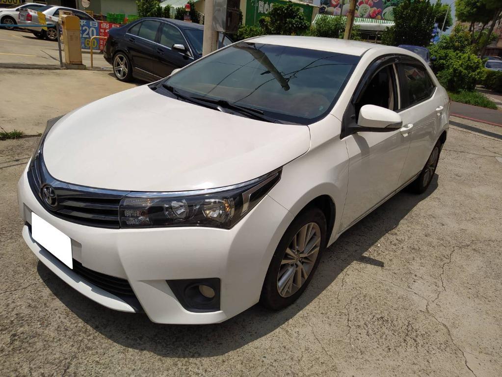 2014年Toyota豐田Altis E版 白
