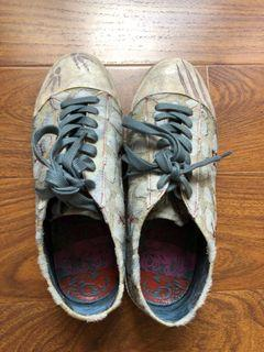全新麥坎納真皮休閒鞋
