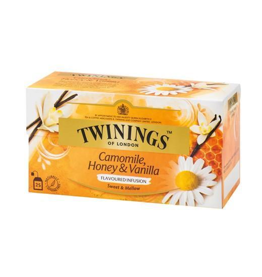 唐寧 TWININGS 香草菊蜜茶 25包盒裝