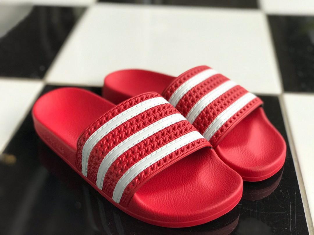 Adidas Sandal 3 Stripes, Men's Fashion