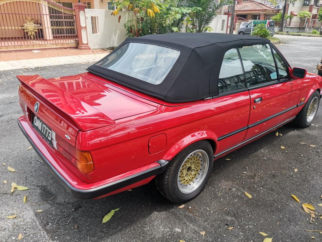 Bmw 325i E30 Cabriolet Cars Cars For Sale On Carousell