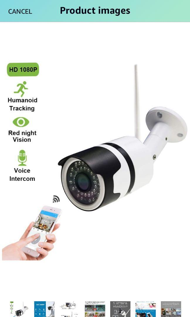 Brand new security camera