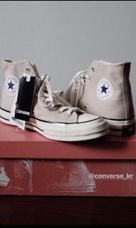 Converse 1970 米色 杏色 korea only 韓國 限定版 us7.5 26cm