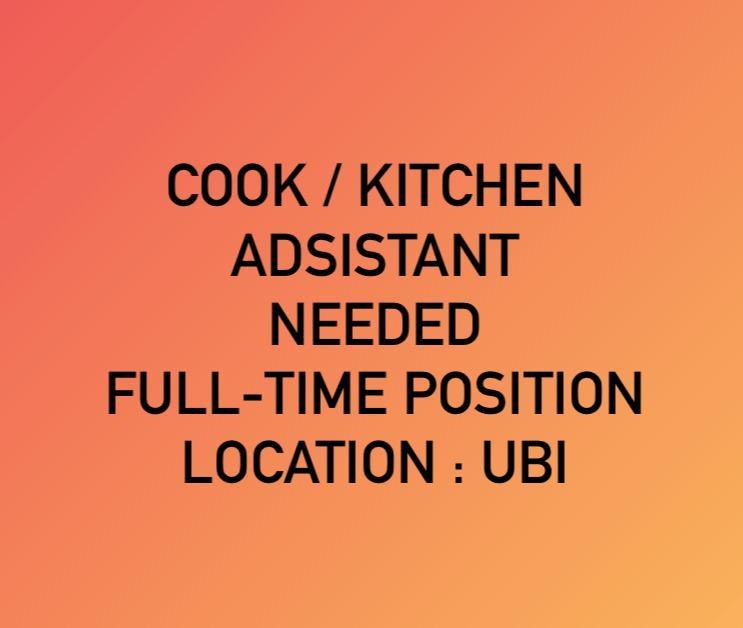 Cook / Kitchen Assistant