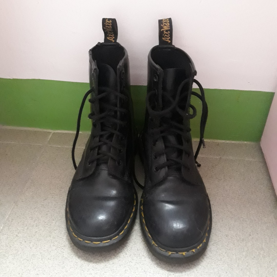 Doc Martens - with signs of wear, Women