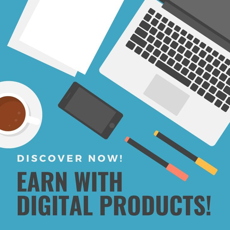 Earn with Digital Products