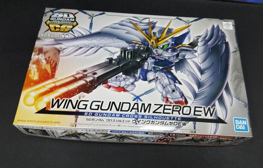 Gundam Cross Silhouette Wing Gundam Zero Ew Sd Gunpla Bandai Toys Games Blocks Building Toys On Carousell