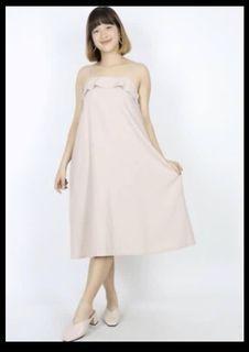 Hollyhoque Beige dress