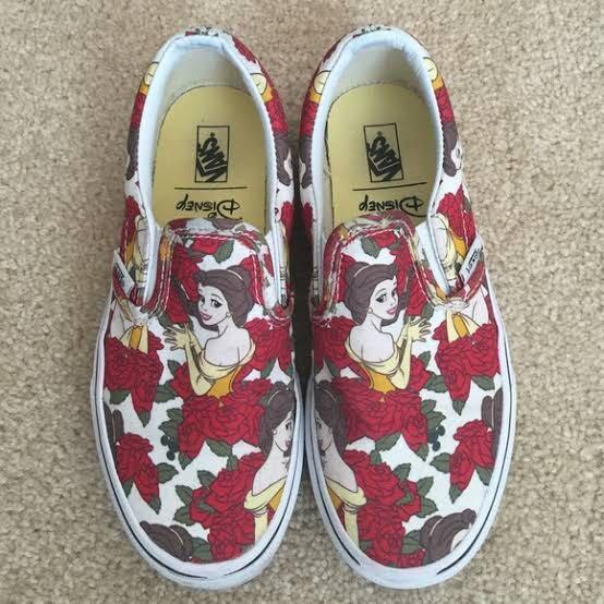disney belle sneakers