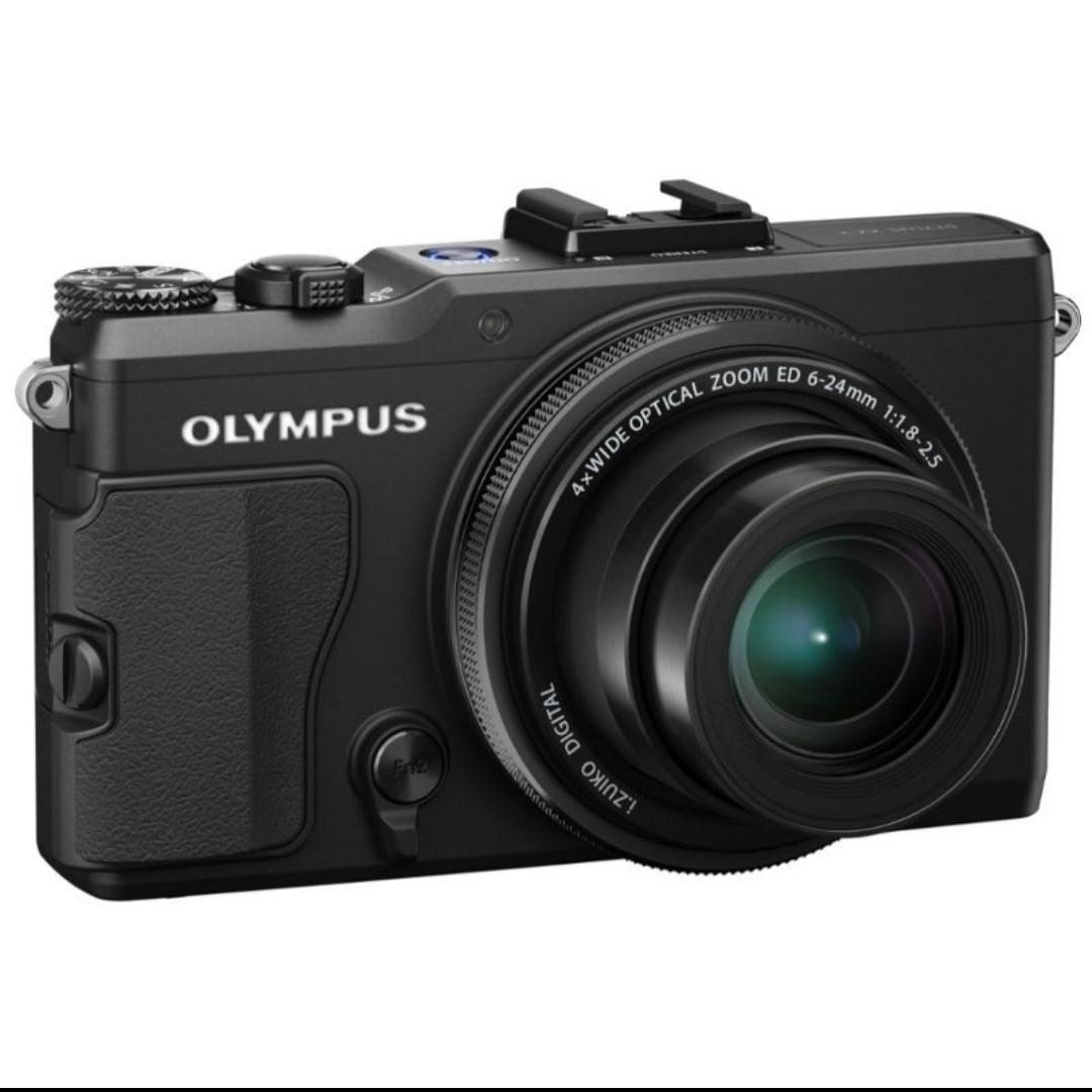 網紅必備相機/奧林巴斯Olympus XZ-2類單相機9成新-黑色