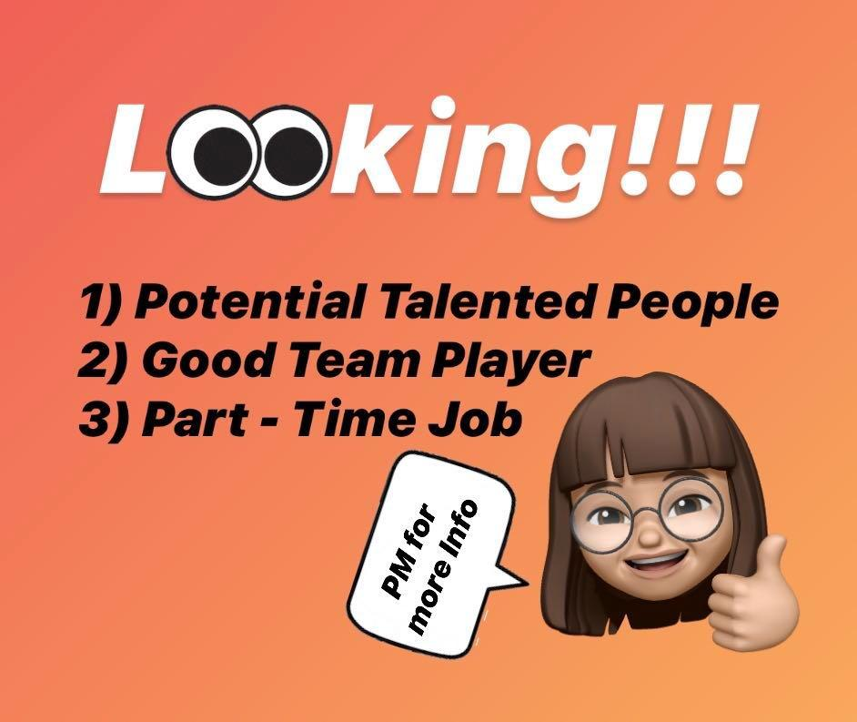 Part-Time Job 💰💰