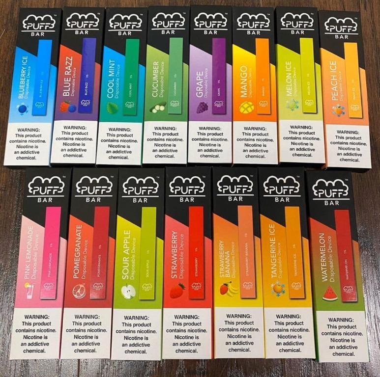 puff bars carts cartridges