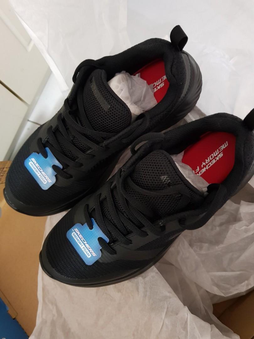 Sketcher black shoes, Sports, Sports