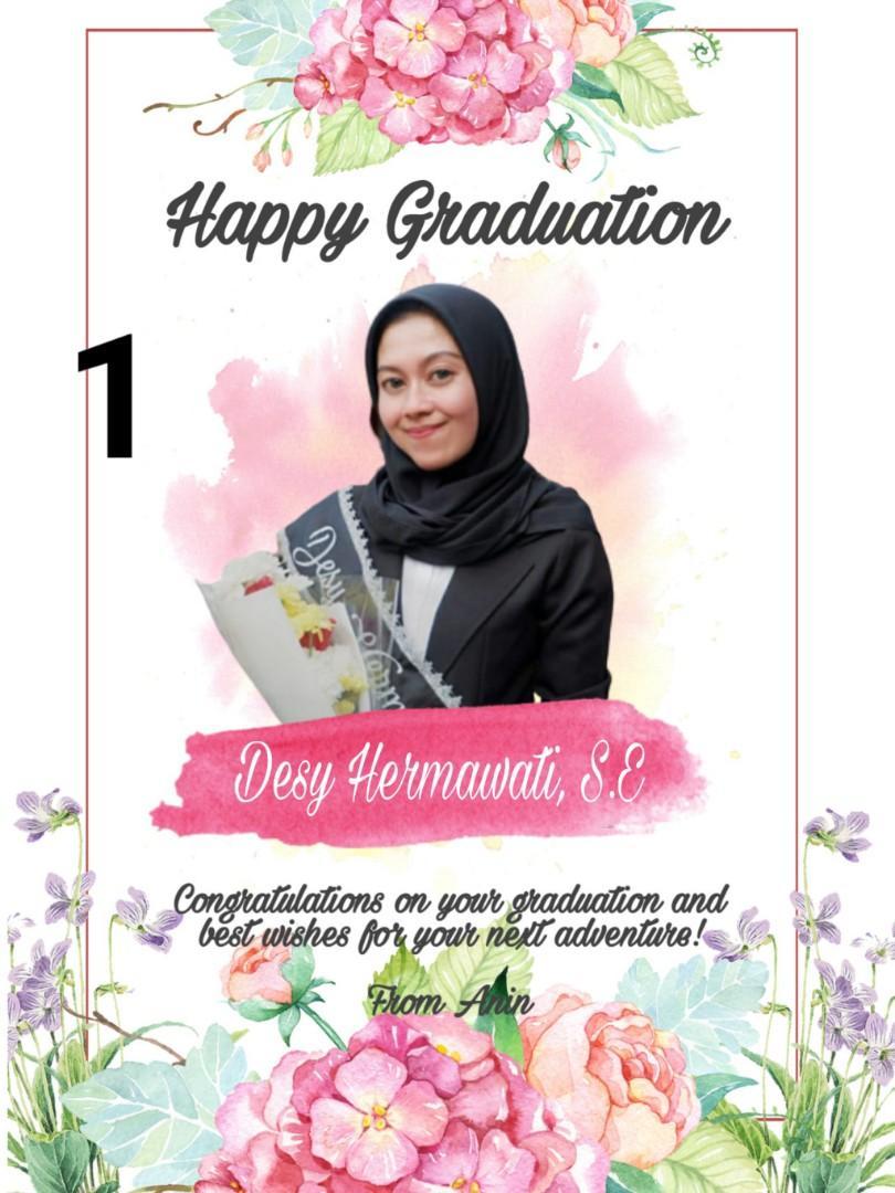 Soft File Hadiah Untuk Wisuda, Ulang Tahun, Anniversary, Pernikahan, dll