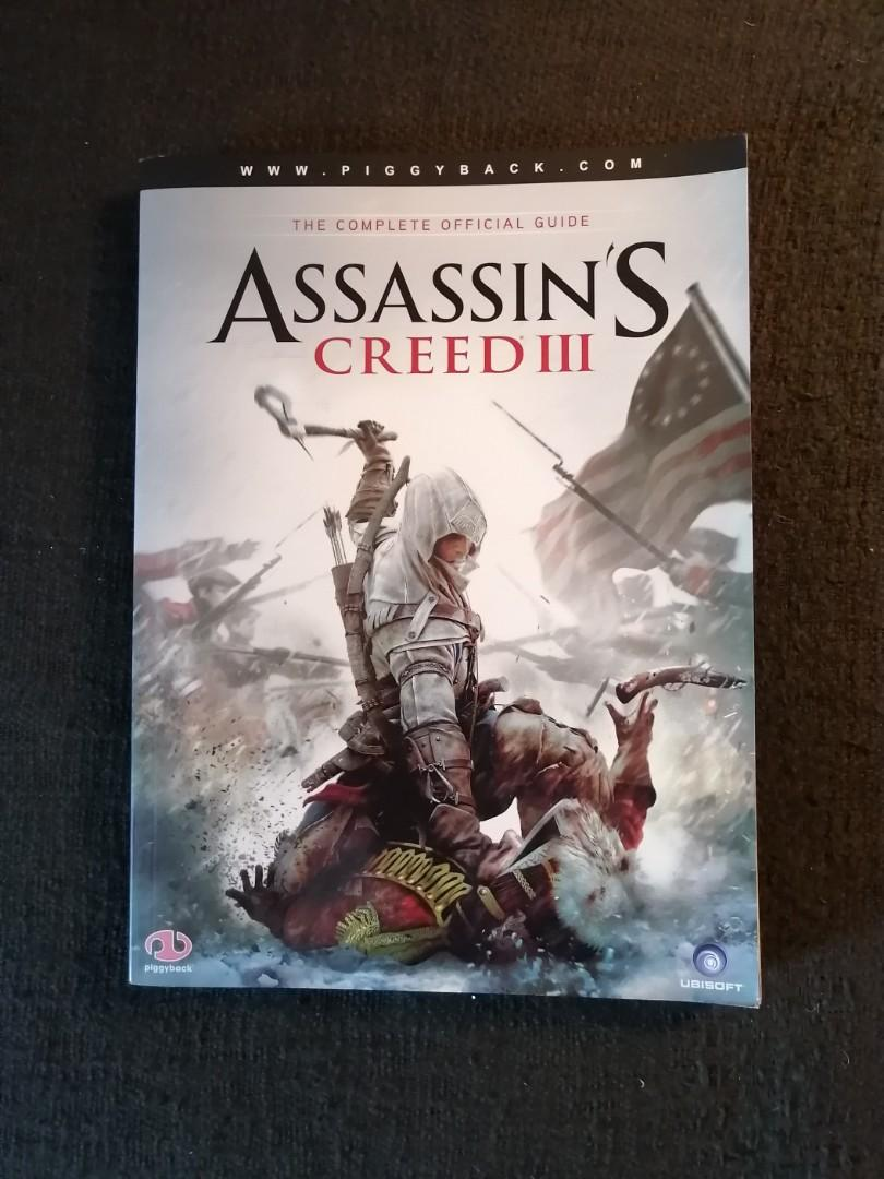 The Complete Guide: Assassins Creed lll book