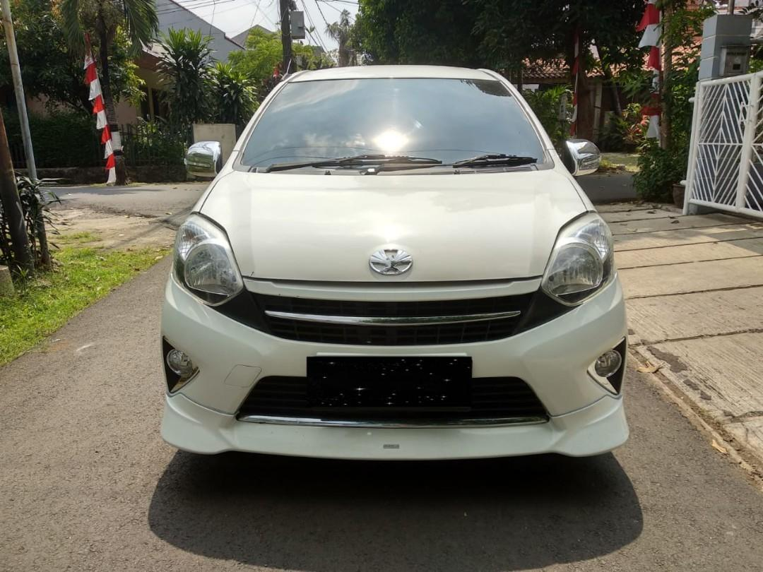 Toyota AGYA TRD S 1.0 AT 2016 angs 1.5 jt