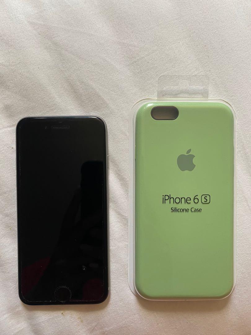 Unlocked 128GB Iphone 6 + new apple case