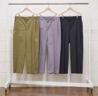 UNUSED [ UW0836 (tuck pants) ] GRAY