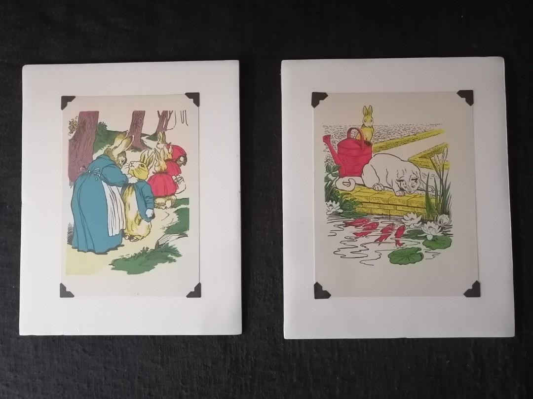 2 Rabbit prints