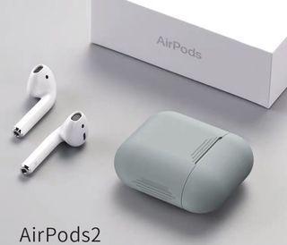 ➿灰色AirPods 保護套