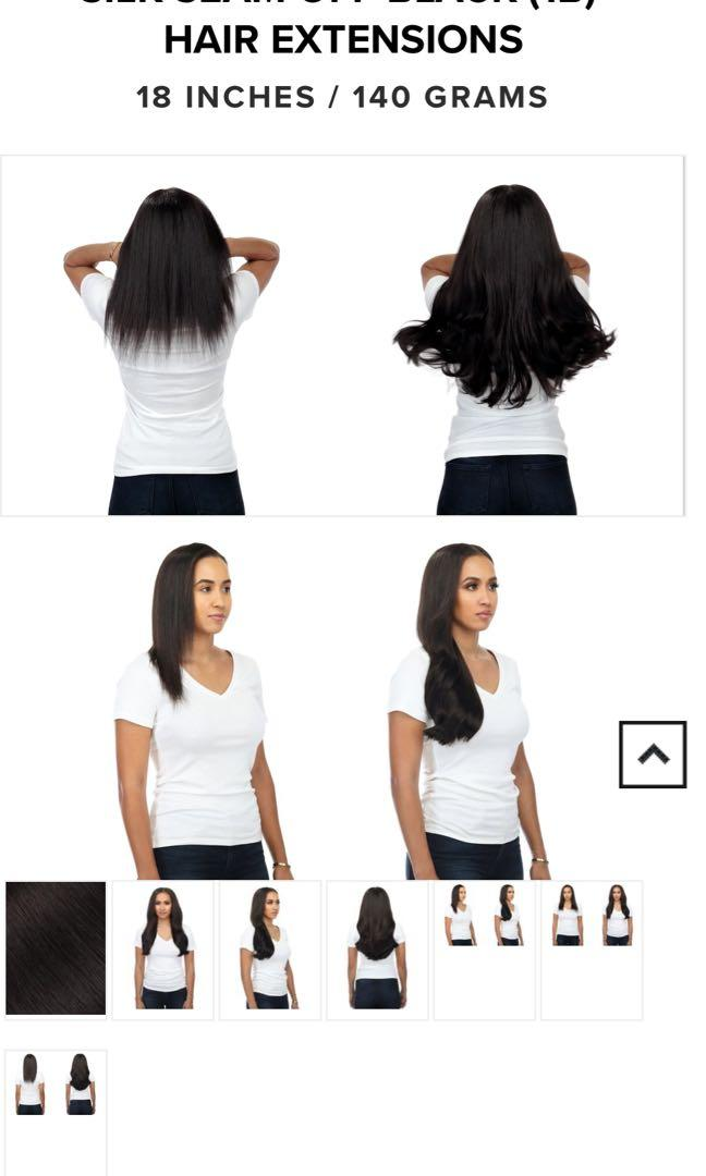 Off-Black Bellami Hair Extensions
