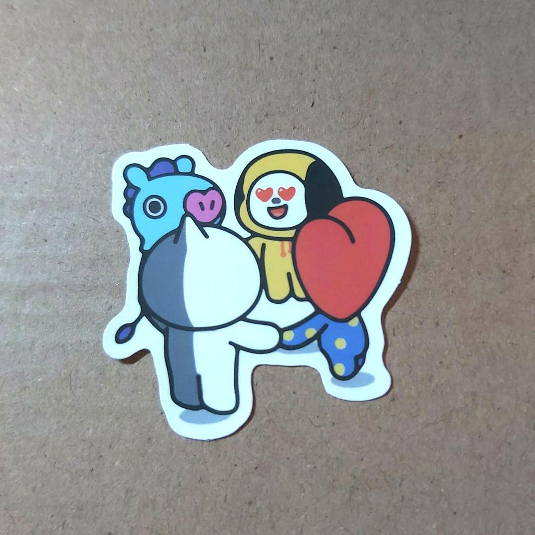 BT21 STICKER SATUAN