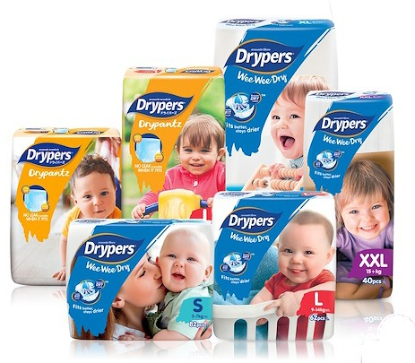Drypers Carton Bundle Deal (Touch, Wee Wee Dry, Drypantz), Babies & Kids,  Nursing & Feeding on Carousell