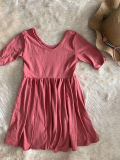 Elementary Basics Pink Dress (runs small)