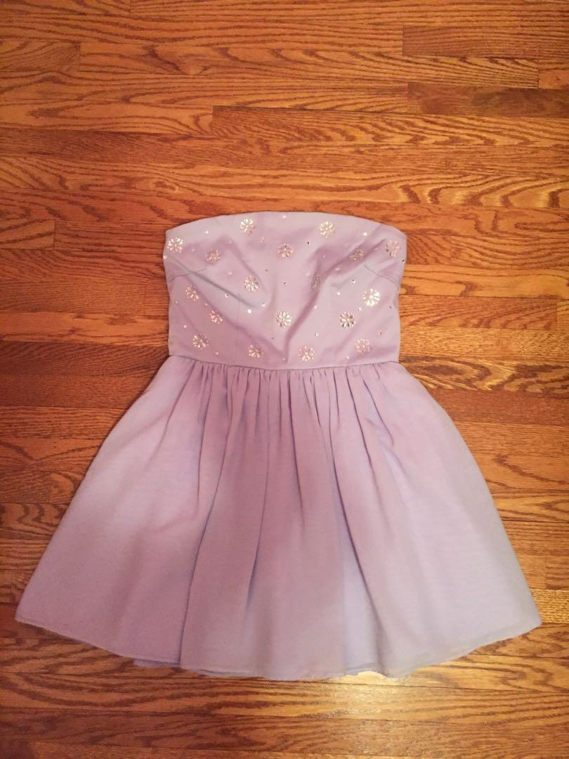 Forever 21 Girl's Lilac Party Dress