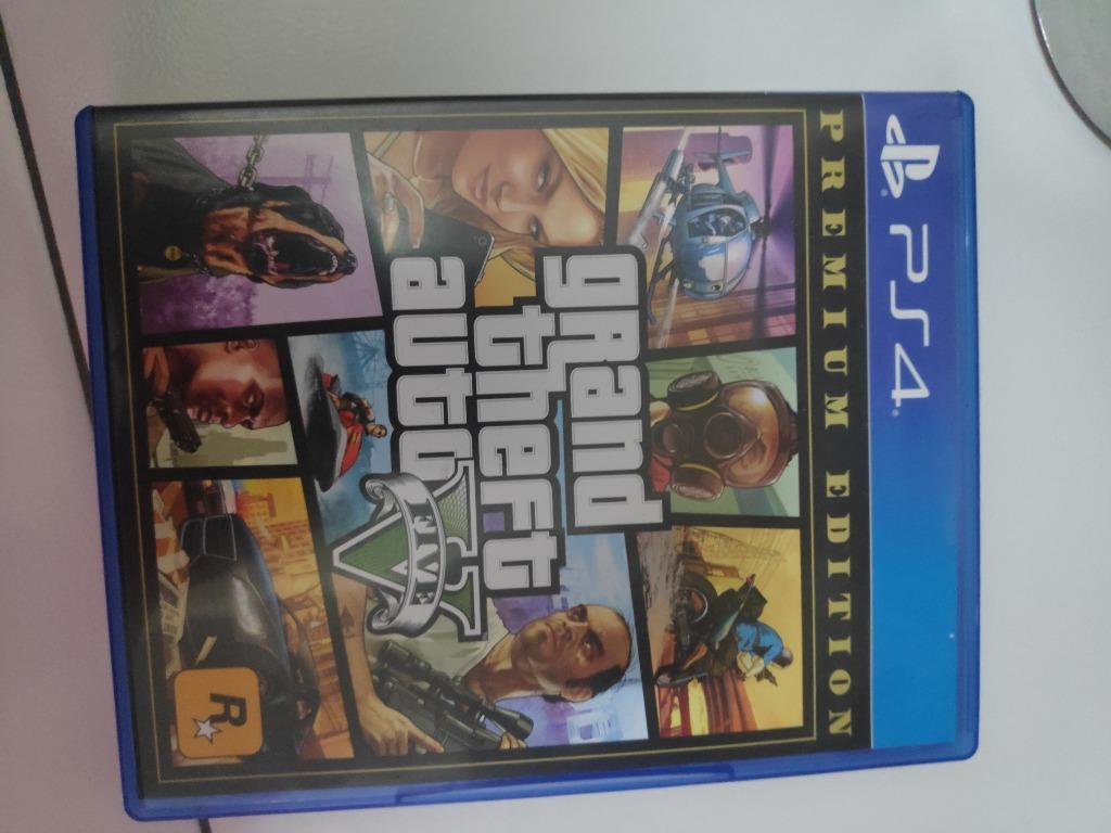 GTA V Premium Edition PS 4