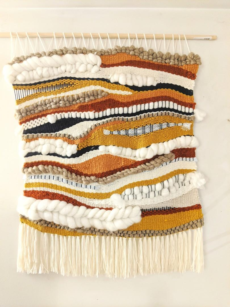 Handmade Loom Weaving