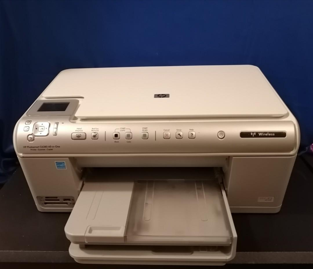 HP Photosmart C6300 All In One Printer