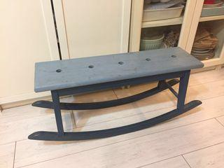 IKEA絕版兒童搖椅(全部實木)