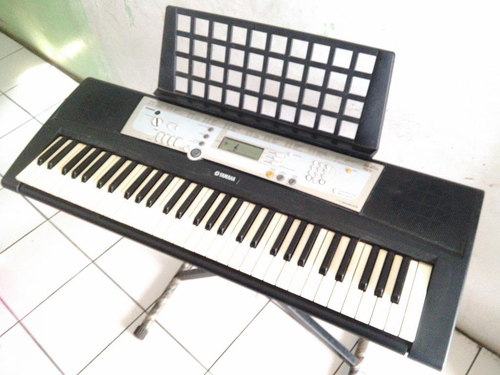 Keyboard Yamaha PSR-203 plus sustain dan kaki Second