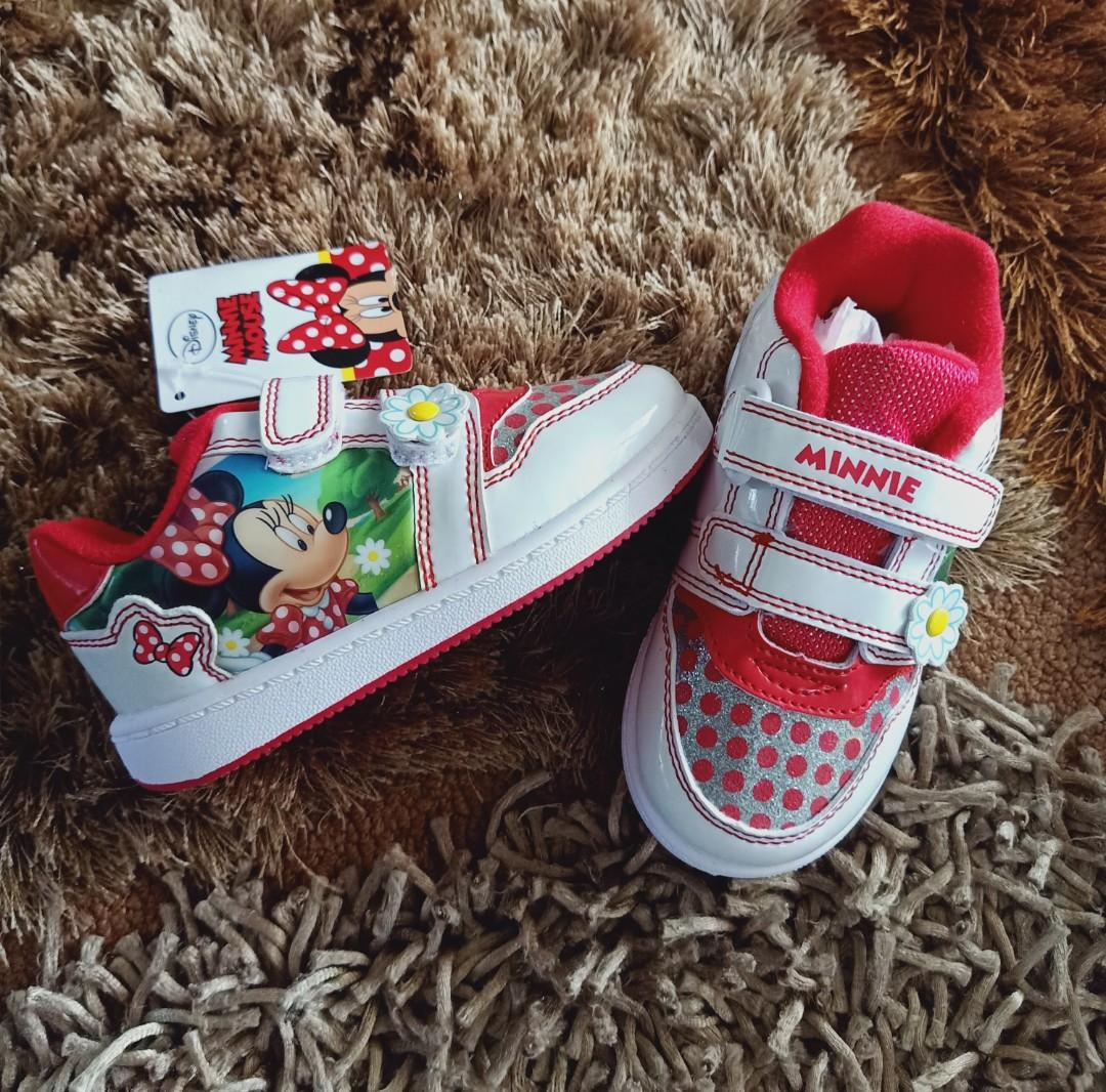 Kids Minnie Mouse Girls Shoes - Size:UK