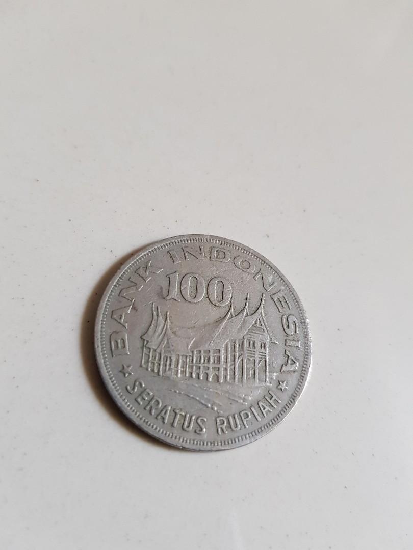 Koin kuno 100 rupiah