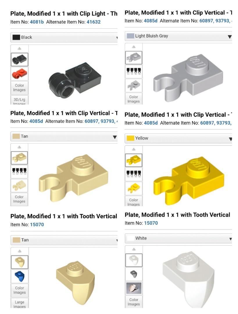 Lego 100 New Bright Light Orange Plates Round 1 x 1 with Flower Edge 5 Petals