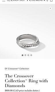 Like New David Yurman Crossover Ring