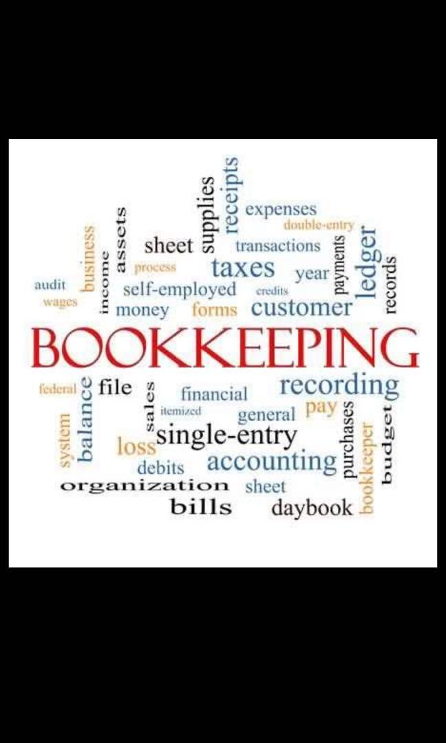 Looking for book keeper