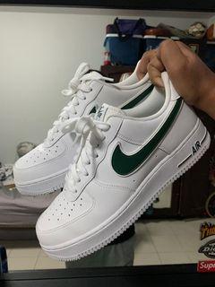 Nike Air Force 1 Cosmic Bonsai Green, Men's Fashion, Footwear ...
