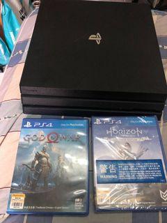PS4 pro 1tb black