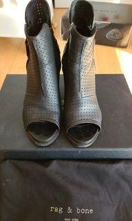 Rag and Bone Black Noelle Boots